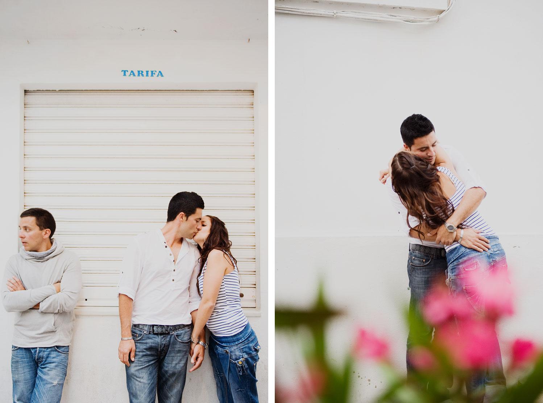 Fotos antes de la Boda en Tarifa