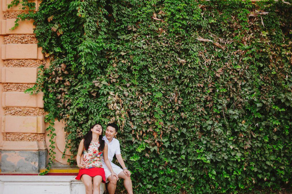fotos postboda en Hotel Alfonso XIII sevilla