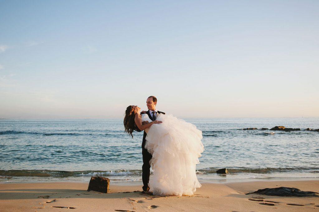 Fotos después de la boda en Tarifa