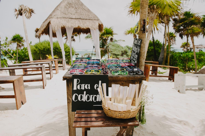 Boda en la Playa de Tulum México