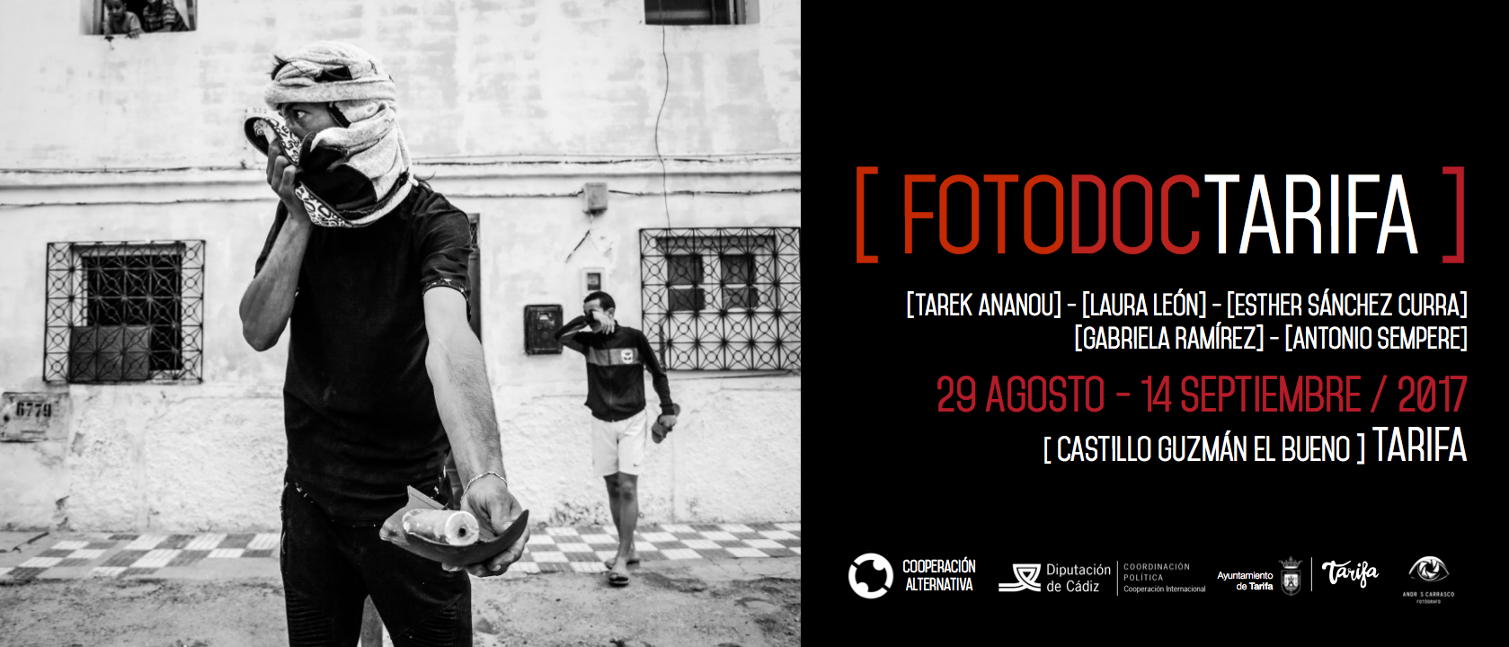 [FOTODOCTARIFA] Lecture on Documentary photography and Human Rights